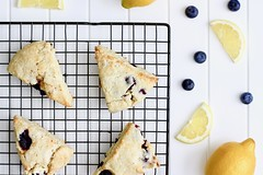 Lemon Blueberry Scones (GF) (Cakes 'n' Bakes) Tags: scones breakfast baking glutenfree blueberry fruit lemon yogurt recipe sweet