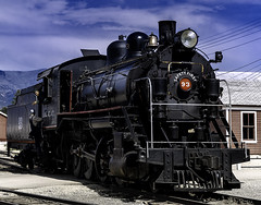 024693763655-103-Steam Locomotive-3 (Jim There's things half in shadow and in light) Tags: america ely nevada nevadanorthernrailwaymuseum southwest usa whitepinecounty history locomotive museum rail steam train