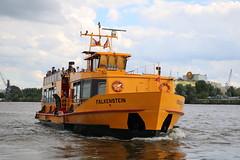HADAG: Hafenfähre MS FALKENSTEIN (Helgoland01) Tags: hamburg schiff ship passagierschiff passengership deutschland germany elbe fluss river hadag fähre ferry