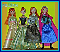 Anna's Wardrobe Collection (DisneyBarbieCollector) Tags: disney frozen princess anna dolls toys collectibles