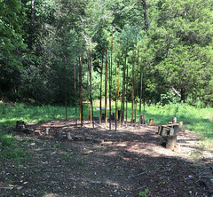 Early stages of the development of Parker the Red Fox Sensory Playscape (vastateparksstaff) Tags: kids playground sensory outdoor family summer