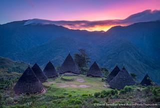 Wae Rebo Sunrise