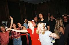 000018-1 (Lee Sydney) Tags: olympusmjuii filmisnotdead fujifilmsuperia200 superia200 fujicolorsuperia200 35mmfilm bristol degreeshowafterparty crowd dancing club party