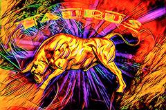 Taurus (Swissrock-II) Tags: zodiac taurus stier challenge photoshop photoshopart photoart digitalart 2018 august colors gold deviantart brushes texture textureart