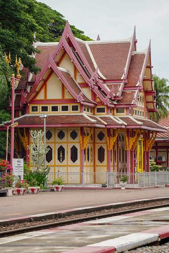 Hua Hin Station Platform