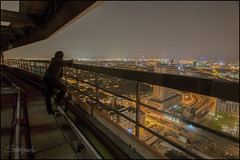The sky is the limit 2018 ([StaticPulse] - www.TheOtherSide.be) Tags: night staticpulse after ue urbex urban exploring infiltration e exposure dark sleep selfie city europe industrial decay decayed abandon abandoned verlaten fotografie photography