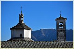 Sacro Monte della S.S. Trinità di Ghiffa (Vb) - UNESCO World Heritage Site (frank28883) Tags: ghiffa verbanocusioossola verbano lagomaggiore maggiorelake worldheritagesite unescoworldheritagesite sacromonte cappella campanile campane