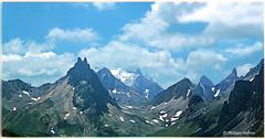 au grand air  ©  Valloire (philippedaniele) Tags: montagnes alpes aiguille alpages sommets cimes nuages