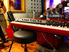 Keyboarding (Pennan_Brae) Tags: musician musicphotography recordingsession recording keyboardist keyboards music recordingstudio musicstudio