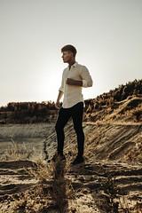 (klaudiakosiorek) Tags: boy man handsome model blonde sand desert sun