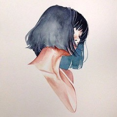 Awesome Hair Drawings For Fashion And Art Too (inspiration_de) Tags: drawing fashion hair illustration