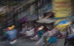Traffic, Saigon (Rossyplaya) Tags: traffic saigon movement streetphotography vietnam carretera trafico movimiento streetphoto motocicleta