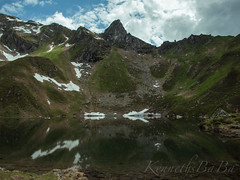 Karsee1 (KennethsBaBa) Tags: karsee austria nature mirror water lake alpen clouds sommer snow mountain hiking