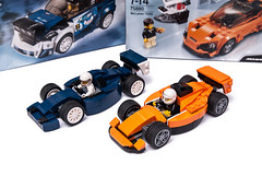 Champions of Speed (KEEP_ON_BRICKING) Tags: lego speed champions formula1 f1 moc mocs car racing race driver ford mclaren 2018 keeponbricking