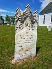 Day 1 - Old Grave Marker (Bobcatnorth) Tags: princeedwardisland canada summer 2018 pei cycling bicycle touring bicycletouring camping sightseeing