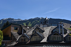 071518-867F (kzzzkc) Tags: nikon d750 canada whistler whistlermarket day clear bluesky mountain skirun trees forest hotel rooftop britishcolumbia bc
