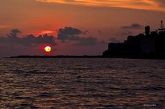 Diamante Cs (Arcieri Saverio) Tags: italia italy calabria diamante cs cosenza light luce tramonto sole sun sky sunset mare blue altotirrenocosenstino bellezza
