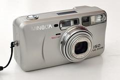 Minolta Riva Zoom 150 (pho-Tony) Tags: photosofcameras onephotoofcamera minoltarivazoom150 zoom ps pointandshoot minolta riva 150 compact 35mm film
