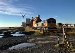 66738 at Blyth (robmcrorie) Tags: 66738 gbrf north blyth alan aluminium dock unloading iphone 7 plus train rail railway railfan freight enthusiast