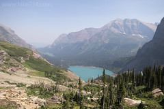 "Allen Mountain with Grinnell Lake • <a style=""font-size:0.8em;"" href=""http://www.flickr.com/photos/63501323@N07/42173745570/"" target=""_blank"">View on Flickr</a>"