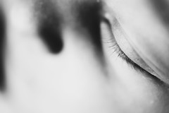 Eye (DonKamilo1984) Tags: eye auge black white beautiful eyebrow augenbraue wimper sony alpha7 alpha7iii sigma 70mm makro macro