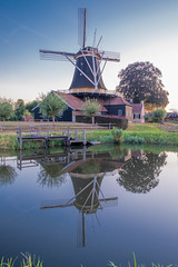 DSCF0662.jpg (brammetje2012) Tags: holland fujixt20 fujinonxf1855mm284lmois avond nederland reflections mill moulin rijssen pelmolen