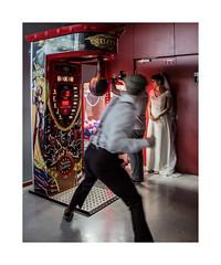 Le plus beau jour de la vie (hélène chantemerle) Tags: mariée attractions boxer mouvement noces fête wedding fairgroundattraction