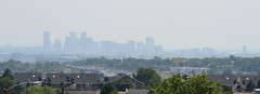 Denver, CO   20189.08.16   Denver Skyline (Kaemattson) Tags: denver denverco downtowndenver co colorado rockies denverskyline skyscraper building flickrfriday wildfire smoke