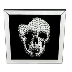 gd-9134_2 (casachoice) Tags: casa choice table crystal ornament wall mirror lamp white gold horse mosaic vase candle holder dressing aluminium fire place set bronze plated metal decorative clock black jewellery box crushed glass stand french chaise tv console skull ceramic floating mirrored clear cruved 3 drawer bedside victorian style ornate