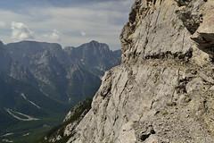 It cuts so deep (matteo.buriola) Tags: friuli alpi giulie val dogna due pizzi cima alta vildiver sentiero cai649 mountains landscape panorama path rocks trekking hiking nikon d3100