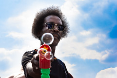 You will have fun (EyeOfTheLika) Tags: ifttt 500px laughter smile happy pleasure glad jolly lighthearted bubbles festival summer sky bubblegun gun fun caribbean london street lika streetphotography colour clouds glasses add new keyword