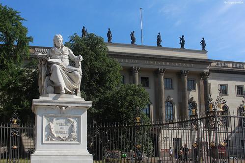 Berlin : l'université Humboldt