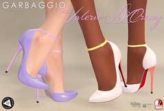 Valerie Dorsay (Ashleey Andrew) Tags: garbaggio sl secondlife second life virtual world fashion apparel accessories footwear shoes original mesh shoe half dorsay tlc