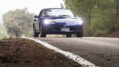 Mazda MX5 NB (iRafaNavarro) Tags: mazda mx5 nb miata azul descapotable roadster topmiata covertible eunos carretera sierra carporn car rolling