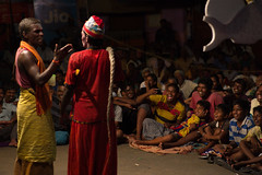 Therukoothu (Suresh Eswaran) Tags: therukoothu incredibleindia streetphotography laughter audience