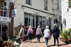 Photo of Window Shopping, Lynton, North Devon, 21/6/2018.