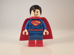 Lego New 52 Superman (Alien Hand) Tags: lego dc superman new 52 muddy river