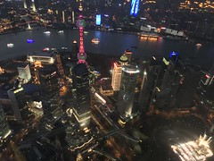Shanghai (上海) - a view into mankind's future and a little bit from the movie 'Blade Runner'. (arwed.kubisch1) Tags: shanghai 上海 china megacity megastadt huangpu river flus fluss jin mao tower oriental pearl bund city stadt blade runner
