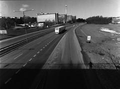 < a stream of pavement > (Mister.Marken) Tags: mamiya6451000s kodakfilm 400tx mamiya kodaktrix400