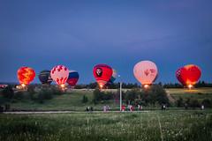 Аэростаты на фестивале Живой воздух