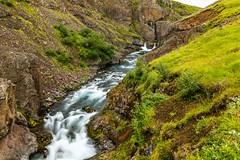 Solvadalur Iceland (Einar Schioth) Tags: solvadalur sölvadalur river rocks rock water waterfall summer day sigma sigma2470 canon coast cliff canyon nationalgeographic ngc nature landscape lake photo picture outdoor iceland ísland einarschioth trees tree