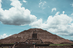 Pyramid with Postcard Sky (davismitchell1) Tags: blue fuji sky fujinon pyramid 35mm fujifilm xt20