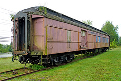 DSC00899 - Passenger and Baggage Car (archer10 (Dennis) 145M Views) Tags: train railway museum sony a6300 ilce6300 18200mm 1650mm mirrorless free freepicture archer10 dennis jarvis dennisgjarvis dennisjarvis iamcanadian novascotia canada musquodoboitharbour railwaymuseum easternshore
