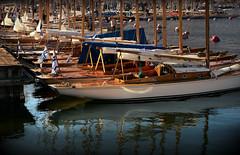 Ready to fly (PentlandPirate of the North) Tags: wooden yachts hanko hango finland suomi marina juju onnelliseksi happy regatta classic