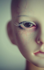 half portrait (dolls of milena) Tags: bjd abjd resin doll dollstown soi portrait half close up