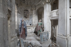 Chiesa del Cielo Cadente (Sean M Richardson) Tags: abandoned church statues decay details architecture canon exploring ruins