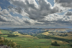 View From Stanage Edge (Bri_J) Tags: stanageedge peakdistrict nationalpark hathersage derbyshire uk countryside nikon d7200 hilltop hdr clouds sky