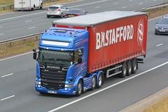 DU16 JWM (panmanstan) Tags: scania r730 bluestream wagon truck lorry commercial curtainsider freight transport haulage vehicle a1m fairburn yorkshire