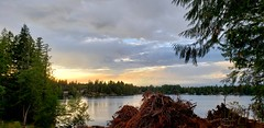 Panther Lake (rve13) Tags: pantherlake galaxys9 cloudsstormssunsetssunrises wildfire breathtakinglandscapes