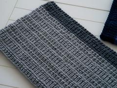 Cambourne Scarf Knitting Pattern (Wyndlestraw) Tags: scarf scarves mensscarf texture pattern knitting knit knittedscarf grey gray blue merino wool fashion mensfashion cambourne wyndlestrawdesigns moiraravenscroft